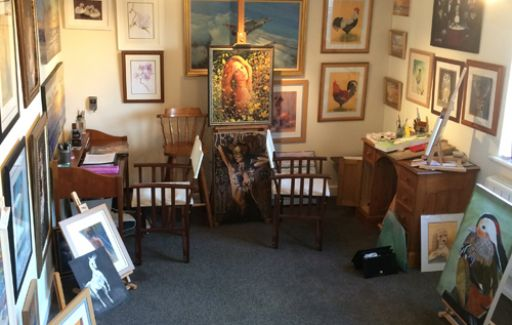 The Studio - Dereham Norfolk - Art by Lesley Goff and John Stevens
